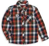 Petit Lem Little Boy's Plaid Cotton Collared Shirt