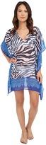 Tommy Bahama Zebra Engineered Tunic Cover-Up