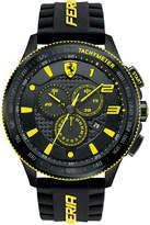 Ferrari Scuderia Men's Chronograph Scuderia Black Silicone Strap Watch 48mm 830139