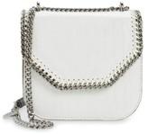 Stella McCartney Mini Falabella Faux Leather Box Satchel - White