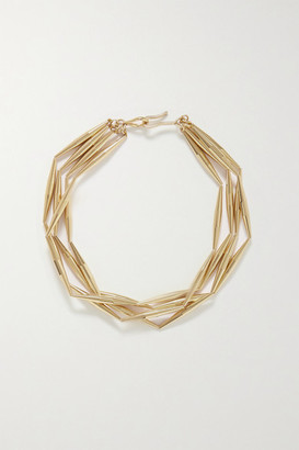 Tohum Helia Gold-plated Necklace - one size