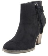 Mia Finnegan Round Toe Synthetic Ankle Boot.