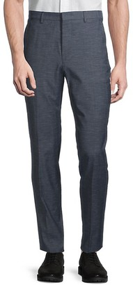HUGO BOSS Pirko Virgin Wool Cotton Trousers