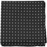 The Tie Bar TheTieBar Linen Blend Dotted Dots Pocket Square