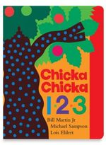 Simon & Schuster Chicka Chicka 1,2,3 Board Book