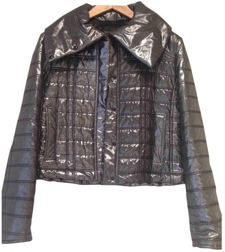 Ramosport Silver Polyester Leather jackets