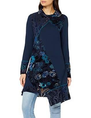 Joe Browns Women's Fantasy Flocked Tunic Long Sleeve Top,8 (Size:8)