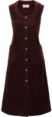 Acne Studios Cotton-blend Corduroy Dress