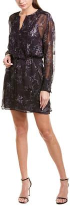 Jason Wu Winter Floral Silk-Blend Shift Dress