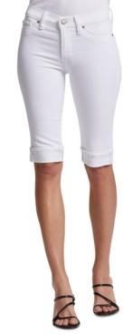 Hudson Amelia Denim Bermuda Shorts