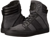 The Kooples Sport Leather and Flannel Sneaker