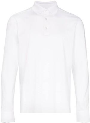Ermenegildo Zegna Long-Sleeve Polo Shirt