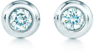 Tiffany & Co. Elsa Peretti Diamonds by the Yard earrings in sterling silver