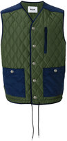 MSGM quilted gilet jacket