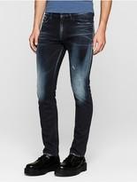 Calvin Klein Jeans Slim Straight Thunder Blue Jeans