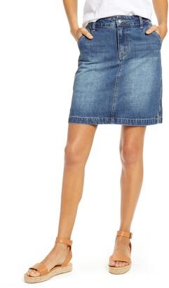 Gibson x Hi Sugarplum! Positano Denim Skirt
