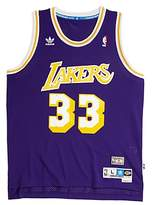 Steiner Sports Kareem Abdul-Jabbar Signed Lakers Purple Adidas Jersey