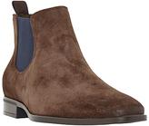 Dune Maritime Suede Colour Pop Slip-on Chelsea Boots, Brown