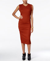 Bar III Ruched Midi Dress, Only at Macy's