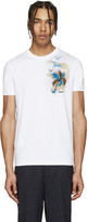 DSQUARED2 White Palm Tree T-Shirt
