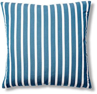 Barclay Butera Shore 22x22 Outdoor Pillow - Blue/White