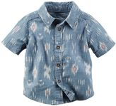 Carter's Baby Boy Tribal Chambray Shirt