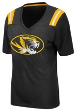 Colosseum Women's Missouri Tigers Rock Paper Scissors T-Shirt