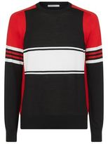 Givenchy Block Stripe Knit Sweater