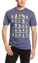 Nintendo Men's Pixel Cast T-Shirt