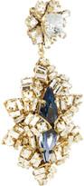 Swarovski Bijoux Heart Gold-plated crystal drop earrings