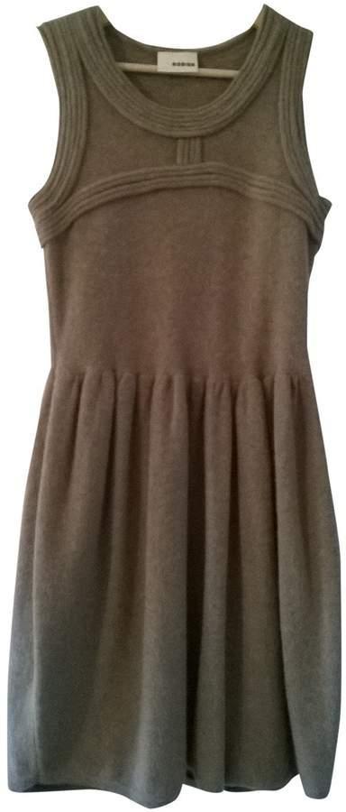 Rodier Brown Wool Dress for Women