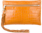 Elizabeth and James Embossed Scott Clutch w/ Tags