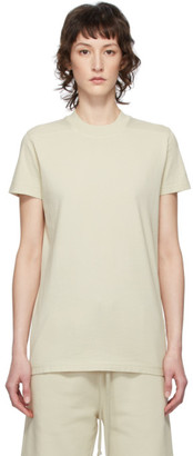 Rick Owens Beige Level T-Shirt