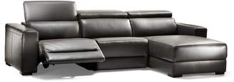 Kode Kenny Leather Dual Motion Modular Sectional