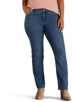 Lee Straight Fit Straight Leg Jeans-Plus