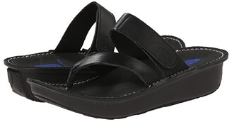 Wolky Tahiti (Black) Women's Sandals