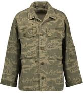 Current/Elliott The Militia Printed Cotton-Blend Twill Jacket