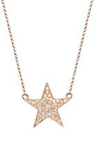 BETTINA JAVAHERI Double Sided Diamond Nebula Necklace