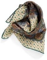 Givenchy Paisley Print Silk Scarf