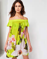 Ted Baker Chatsworth Bloom Bardot cover up