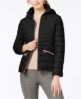 MICHAEL Michael Kors Hooded Packable Down Coat