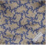Corneliani Paisley Silk Pocket Square
