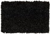 Nourison Shimmer 001SB Black Rectangle Rug 2.3 x 3.9'