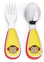 Skip Hop Zootensils Fork and Spoon Utensil Set, Marshall