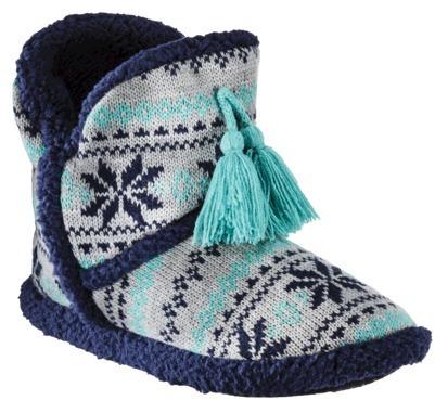 Xhilaration Juniors Short Boot Slippers - Assorted Colors