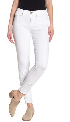 Frame Le Skinny de Jeanne Foiage Embroidered Jeans