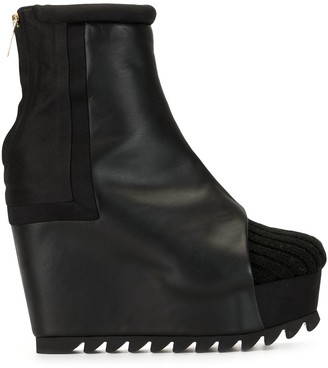 Undercover Knitted Toecap Wedge Boots