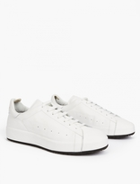 Officine Creative White Leather Florida Sneakers
