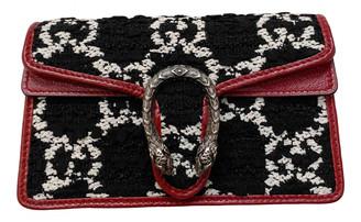 Gucci Dionysus Black Tweed Clutch bags