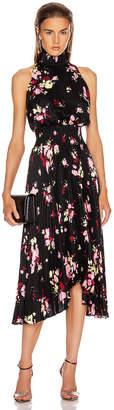 A.L.C. Renzo Dress in Black, Pink & Yuza | FWRD